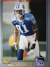 NFL 90 Chris Sanders Tennessee Titans TOPPS 2001