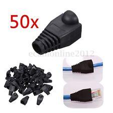 Lot 100 Pcs RJ45 Connector Modular End Cap Boot Head CAT5 Plug CAT6 CAT5E Cable