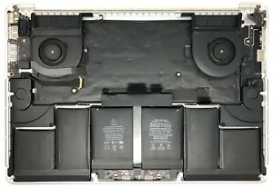 """Apple MacBook Pro 15"""" A1398 Mid 2015 Top Case w/Trackpad, Battery, **Plus More"""