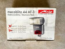 Metz Mecablitz 44AF-3C Aufsteckblitz für Canon - DEMOWARE - OVP