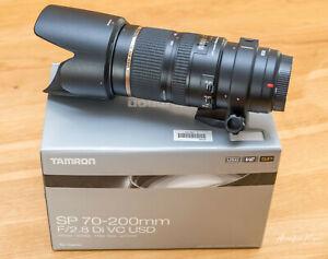 Tamron SP 70-200mm 2 8 Di VC USD Canon