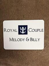 Cruise Ship Magnetic Door Decoration / Royal Caribbean Royal Couple!