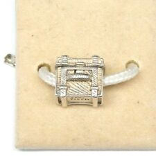 NEW AUTHENTIC CHAMILIA STEAMER TRUNK STERLING SILVER .925 CHARM #2010-3237