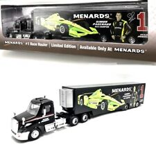 Simon Pagenaud Menards Team 1 Penske Truck Hauler 1/64 2016 INDYCar Champion New