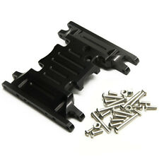 Alum Alloy Bottom Base Mount Middle Center Skid Plate For Scx10 90046 Rc Cars Us