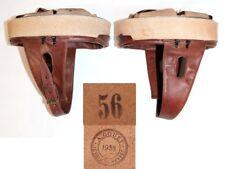 coiffe intérieure cuir brun casque Modèle 35 Troupes motorisées taille 56