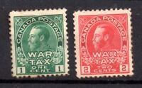 Canada KGV 1915 War Tax mint MH SG228-229 WS18207