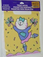 Party Favor Treat Sacks 8 Pk Child Party Bags Kitty Cat Theme See My Other Items