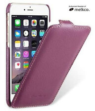 MELKCO Jacka New Purple Genuine Real Leather Case Cover for Apple iPhone 7 4.7""