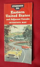 1954 Kentucky Tennessee road  map KYSO gas oil Cumberland Falls cover pictorial
