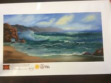 "Limited Edition Giclee I. Dale's ""Jewel of Seascape"" # 375 Of 1000"