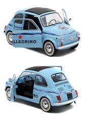 1/18 Solido Fiat 500 Acqua Frizzante San Pellegrino Neuf Livraison Domicile