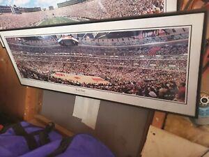 Michale Jordan Chicago Bulls Foul Shot Framed Photograph By Rob Arra