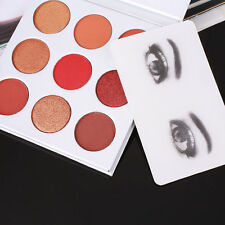 Lady 9 Colors Matte Pigment Eyeshadow Palette Cosmetic Eye Shadow With Mirror