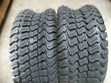 TWO 16/6.50-8,16/6.50x8 Lawnmower / Golf Cart Turf 4 ply Tubeless Tires