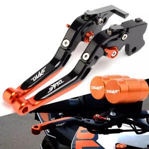 For KTM DUKE 390 200 125 2013-2019 CNC Folding Extendable Brake Clutch Levers