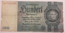 Germany Reichsbanknote 100 Mark 1935 , P183 , Fine