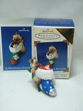 2003 Hallmark Mischievous Kittens Colorway Register to Win New in Box