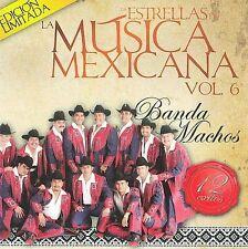 FREE US SHIP. on ANY 2 CDs! NEW CD Banda Machos: Estrellas De La Musica Mexicana