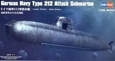 HOBBYBOSS sottomarino U-Boat German Navy Type 212 Attack Submarine 1:350 KIT