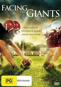 Facing the Giants DVD - Special Collectors Edition (Region 1, 2007) Free Post