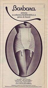 PUBLICITE ADVERTISING 034 1964 BARBARA collection barbarella gaine