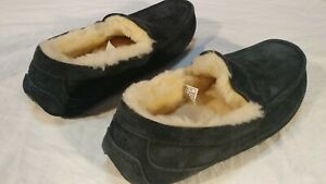 UGG Men's Ascot Moccasin Slippers Suede True Navy *NEW* Size 10