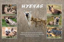 Liberia 2018 Fauna animals SPOTTED HYENAS SHEETLET   I201803