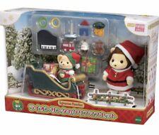 Sylvanian Families / Calico Critters Lion Santa's Christmas Set