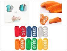 Kids Toddlers Grip Socks slippers Anti Skid Non Slip 6-Pairs, 3-6 Years