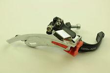 90 S VINTAGE SHIMANO DEORE FD-M567 MTB bike gear mech dérailleur bas pull 31.8 mm