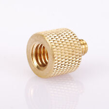 "3/8""Male to1/4"" Female Screw Brass Adapter for Tripod Camera Flash Bracket Stand"