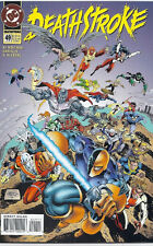 (1995) DC COMICS DEATHSTROKE #49 IMPULSE! SUPERGIRL! DEADSHOT! DARKSTARS! VF/NM