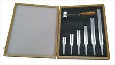 Tuning Fork Set of 6 with Wooden Box and Acrylic Mallet