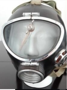 CHERNOBYL GSP MINERS GAS MASK WITH WINDSCREEN LIKE MOVIE DIVERS HAD + DOSIMETER