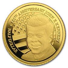 2017 Nauru 1/2 gram Gold 100th Anniversary of John F. Kennedy