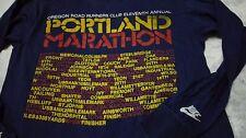 RARE VINTAGE 70s NIKE OREGON ROAD RUNNER by BELTON T SHIRT PORTLAND MARATHON