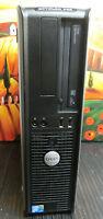 Top Dell Komplett-PC Computer Rechner Core2Duo 2x3,00Ghz 4Gb Ram Windows 7Pro