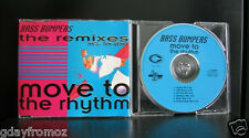 Bass Bumpers - Move To The Rhythm Remixes 6 Track CD Single