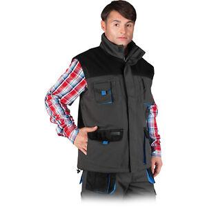 Arbeitsweste Winterweste Weste Arbeitskleidung LH Schwarz Blau Gr. M - XXXL NEU