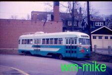 #04 - trolley - Washington DC Capital Transit PCC #1130 in 1960 Duplicate slide
