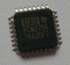 Bb pcm2706pjt QFP audio estéreo DAC with USB Interface