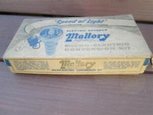 NOS Mallory Micro-Electric Conversion Kit 25900A 1957-1959 Ford Lincoln Mercury