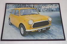 Leyland Auto Werbung Prospekt Mini 1000, Stand 06/1978