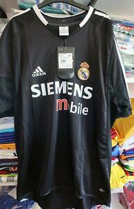Real Madrid 2004-05 Away Adidas Shirt Jersey Men's Large BNIB - Dead Stock