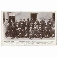 More details for new zealand all blacks rugby union team 1905/05 rp postcard, unused