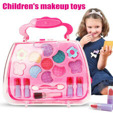 Princess Toys Girl Makeup Tools Set Suitcase Cosmetic Pretend Play Kit Kids Gift