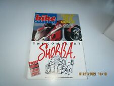 Bike Magazine UK  APR 1988 - FREE CARTOONS - ZX10 CENTERFOLD