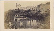 Nice Le château de Saint-André Alpes-MaritimesFrance cdv Vintage albumine