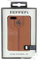 Ferrari Real Leather Snap-on Hard Case for Apple iPhone 5/5s  US-SELLER